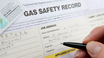 Gas safety certificates & records