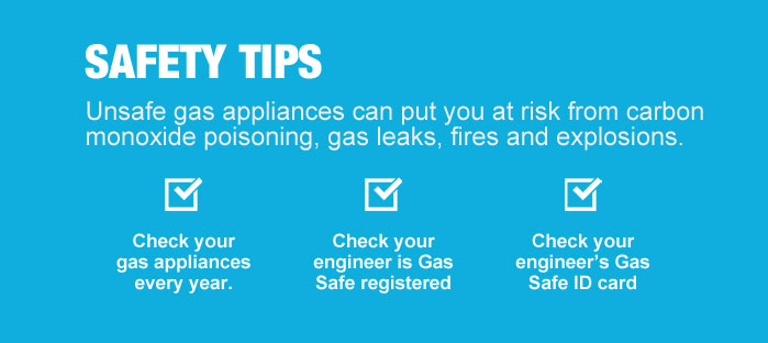 Gas Safety tips
