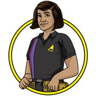 Aisha - Gas Safe Superhero
