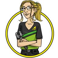 Olivia - Gas Safe Superhero